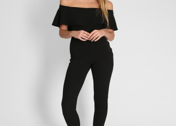 Oben Off Shoulder Jumpsuit