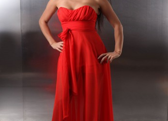 Erfreulich Rotes Ballkleid Lang