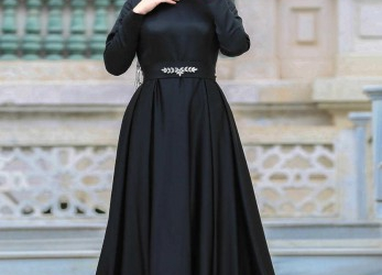 Frisch Hijab Evening Dress