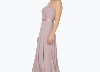 Neu Unique Damen Abendkleid, Stola