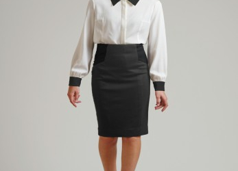 Trend Business Kleid Wadenlang